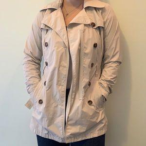 North face windbreaking/rain trench coat